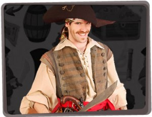 Pirate perfomer