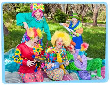 Clown Hire Adelaide Yabadoo