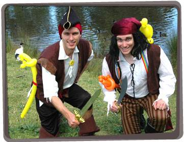 Pirate performers