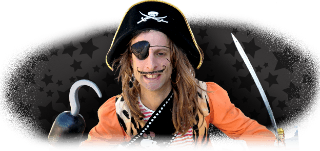Pirate performer