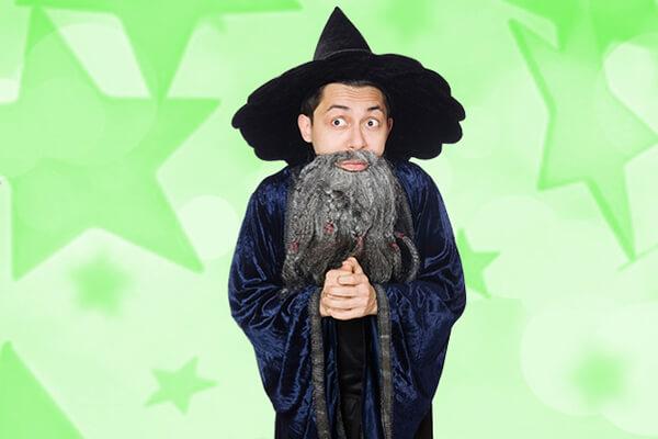 Includes Wizard Magic Show